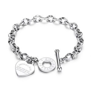 Jewelry - Silver Colour Stainless Steel Bracelet